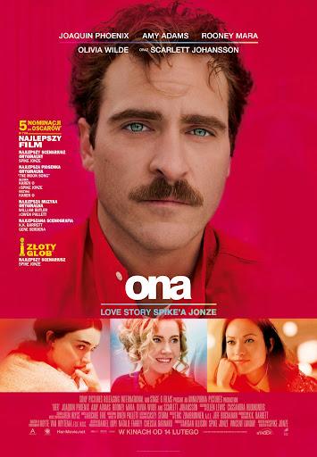 Polski plakat filmu 'Ona'