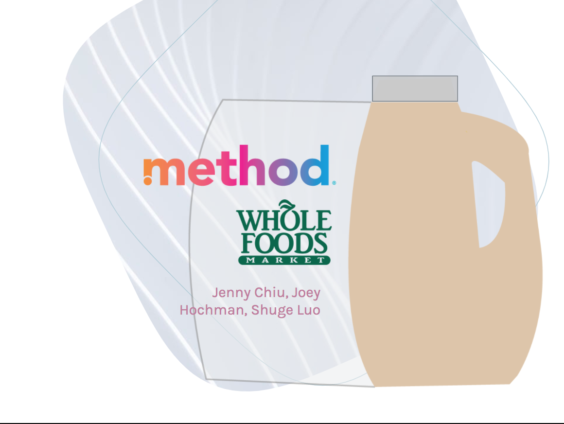 Method and Whole Foods –Logo and packaging