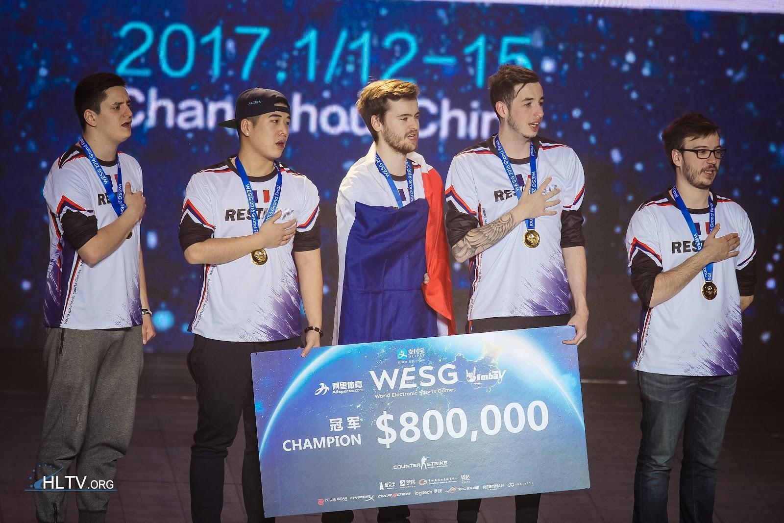 EnVy - победители WESG 2016