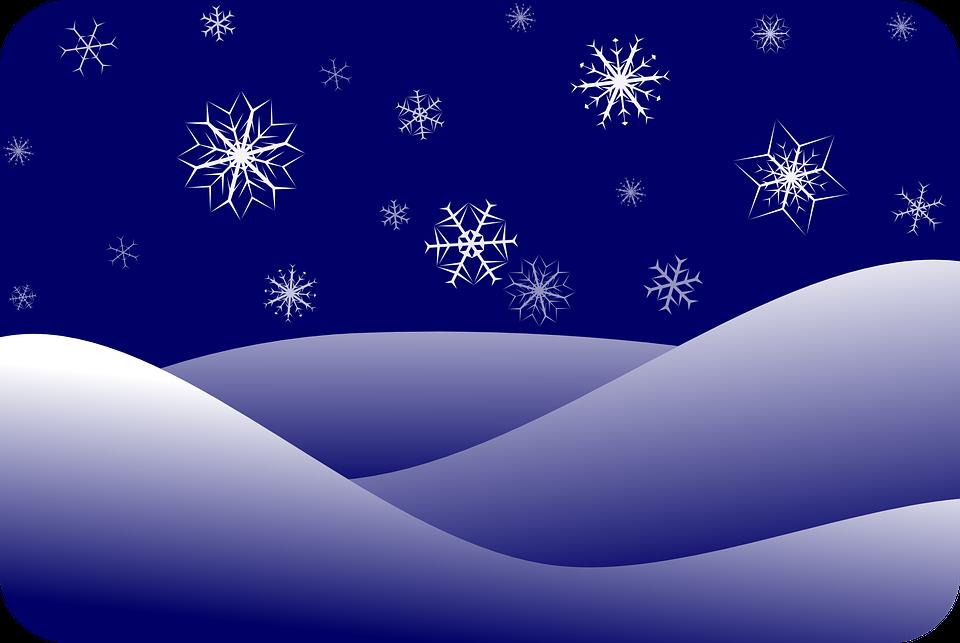Snowflakes, Snow, Winter ...