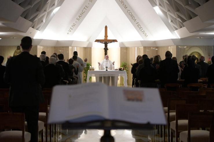 Nhà nguyện Thánh Marta: 'Nếu một Đức Giê-su hằng sống không hiện diện trong Giáo hội, Giáo hội sụp đổ'