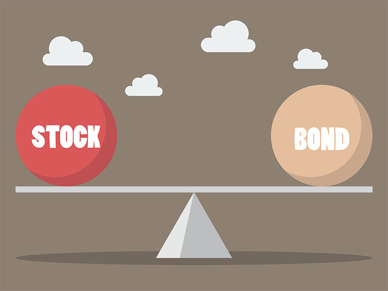 The difference between stocks and bonds