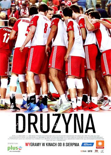 Przód ulotki filmu 'Drużyna'
