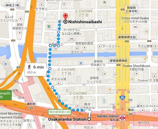 namba station to hotel.jpg