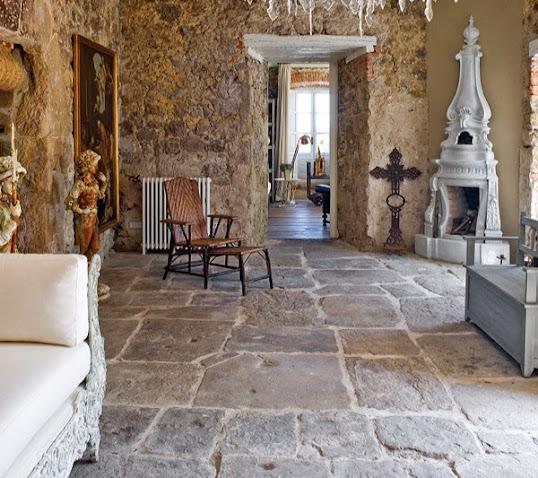 lantai batu alam untuk indoor