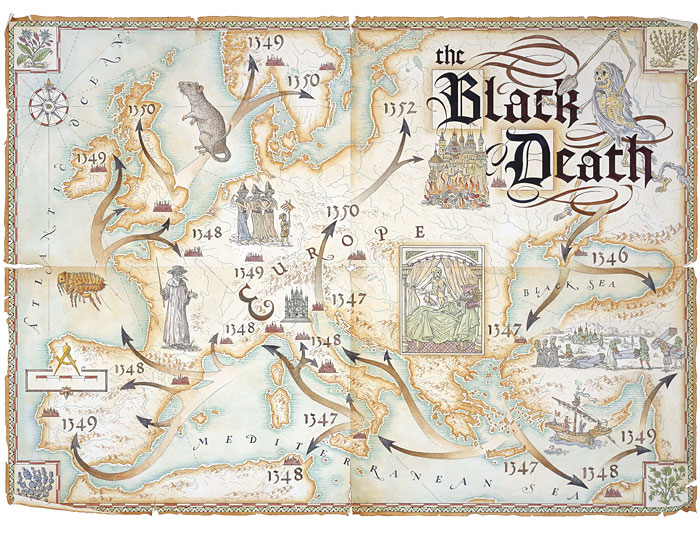 A global pattern associated with the black death a pandemic that the plague later spread to the mediterranean and then europe by black rats which lived in the ships one of the first areas of europe to be effect was the gumiabroncs Images
