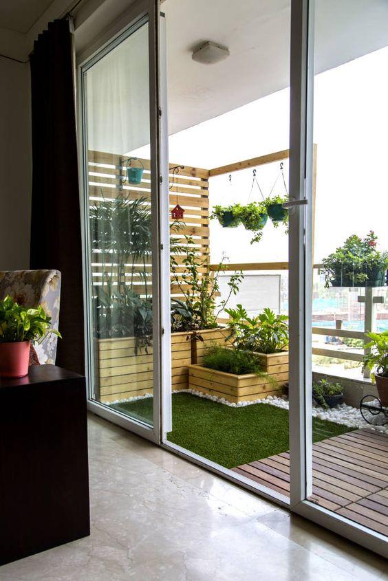 Террасная доска и искусственный газон