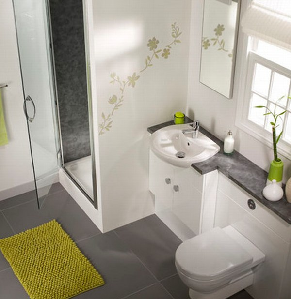 Small Interiors: Bathroom Decor Ideas | Flooring hunter