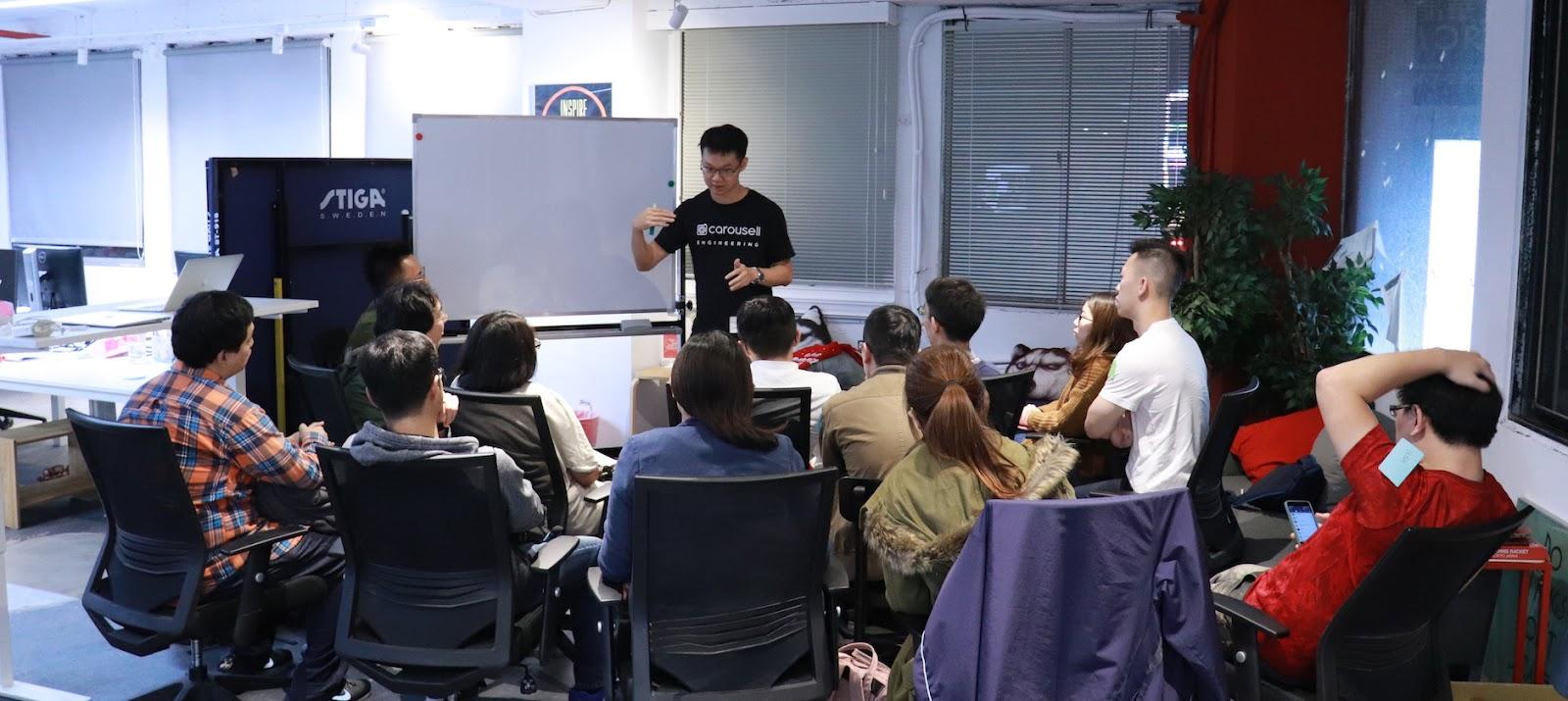Carousell 旋轉拍賣 Buyer Experience Team 的資深 Android 工程師 Tim 分享如何打造個人化的買家體驗