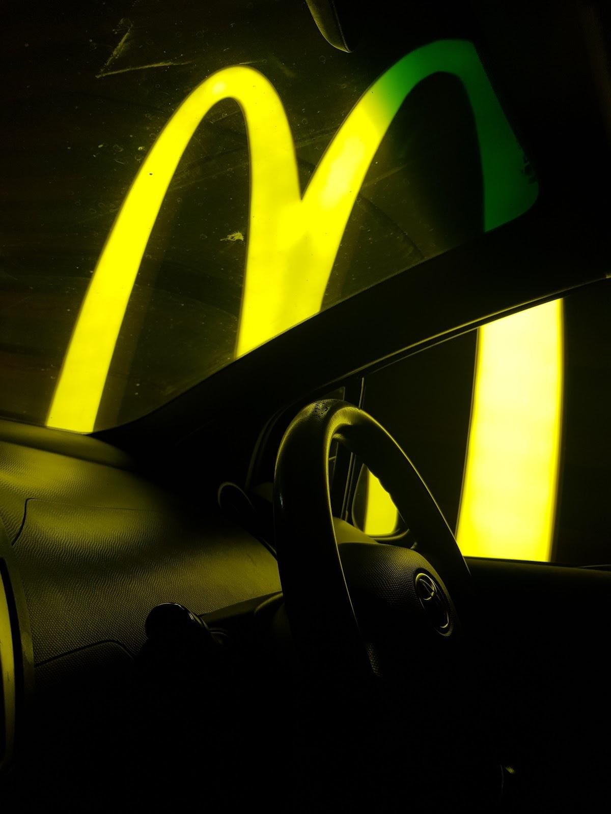 Pay at drive-through