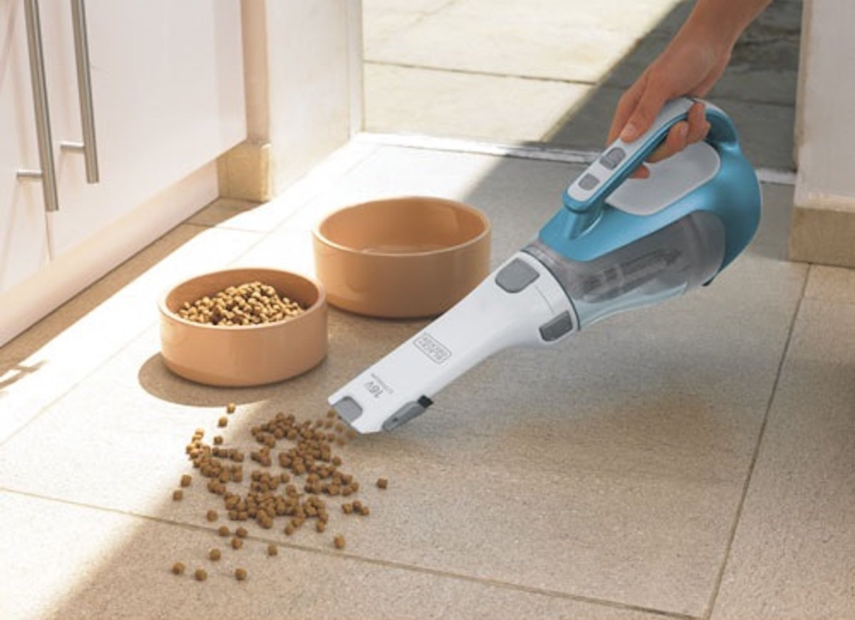Handheld vacuum cleaners are easy to use and provide greater flexibility  Source: bobvilla.com