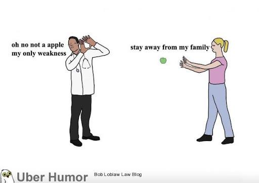 An apple a day keeps the doctor away' | Funny Pictures, Quotes ...