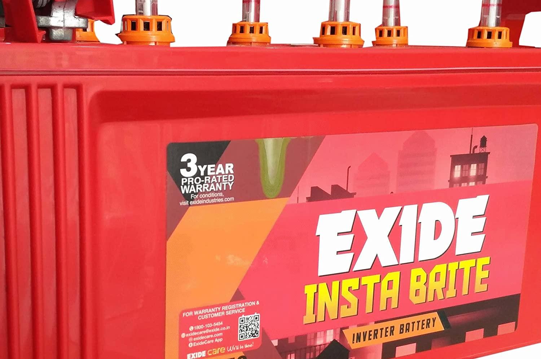 Exide 150Ah Insta Brite Inverter Ups Battery