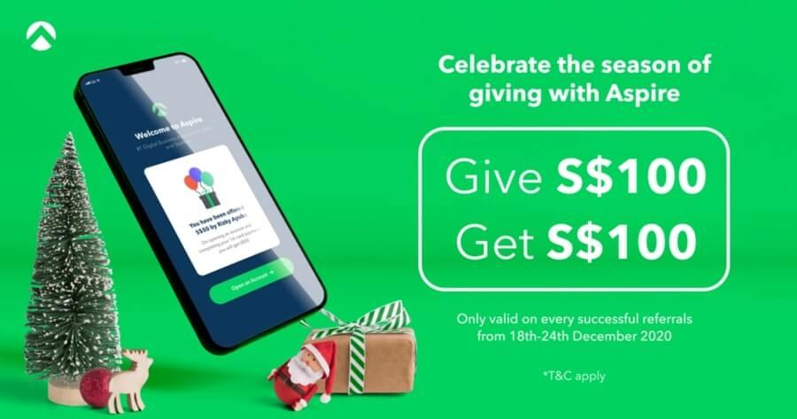 give and get referral incentive aspire