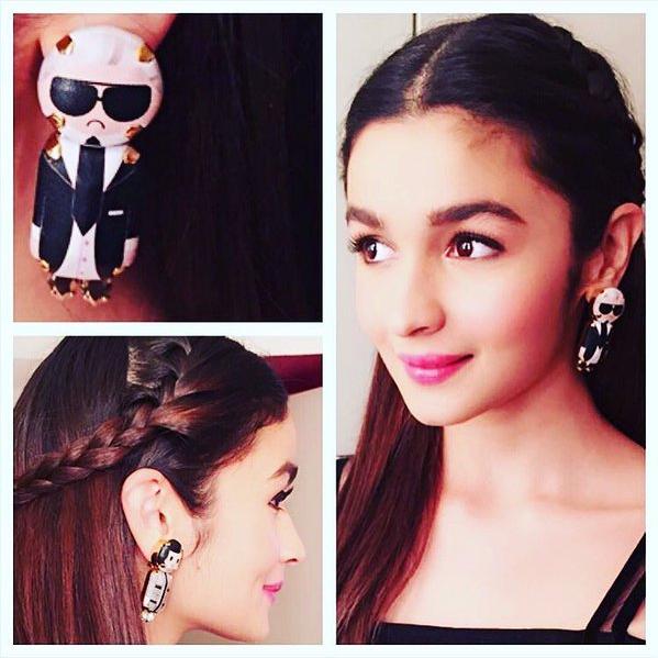 14. Oh Boy! Those earrings!