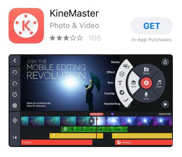 Phần mềm KineMaster