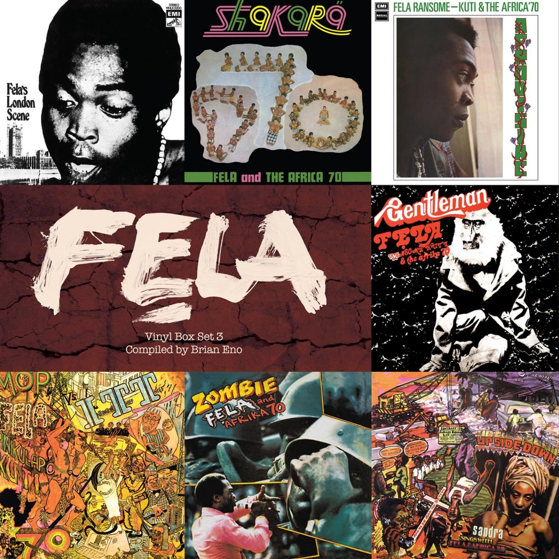 Image result for vinyl box set 4 fela kuti