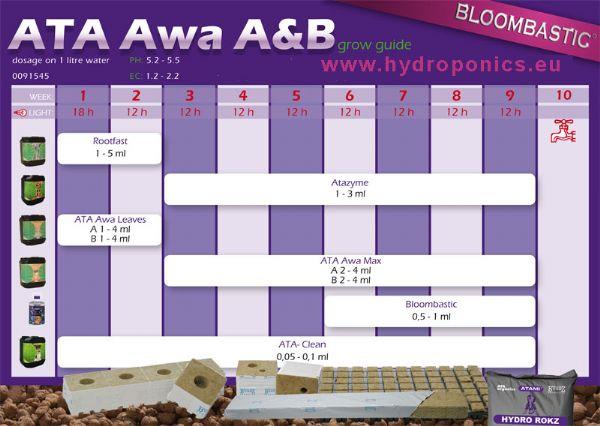 Стартовый комплект для гидропоники Bloombastic Box ATA / AWA