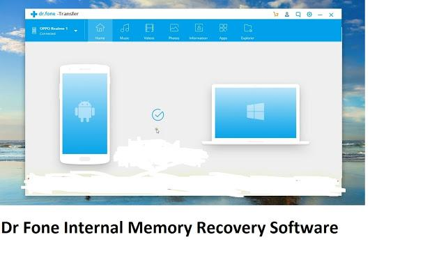 Dr Fone Internal Memory Recovery Software