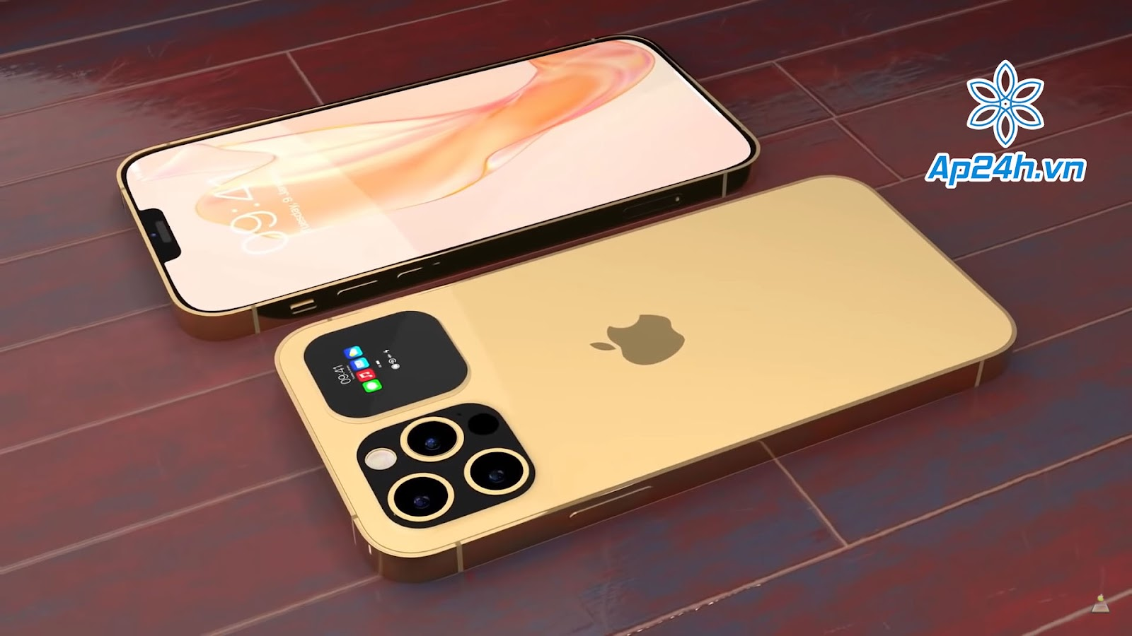 Màn hình phụ tại mặt lưng của iPhone 13 Pro