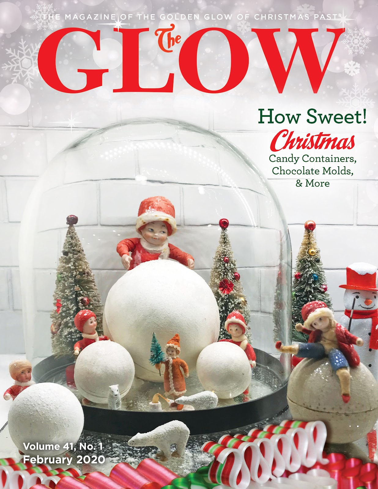 Cover of the February 2020 edition of The GLOW Magazine. Photo courtesy of The Golden Glow of Christmas Past.