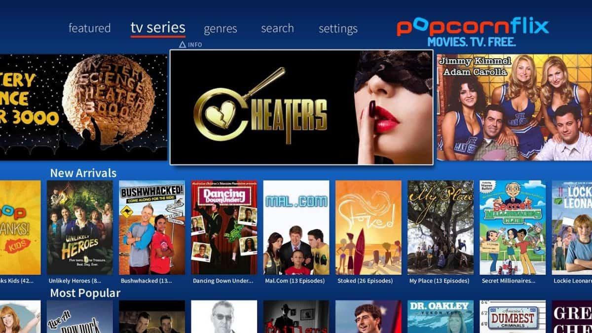 Popcornflix-Free TV, Movies