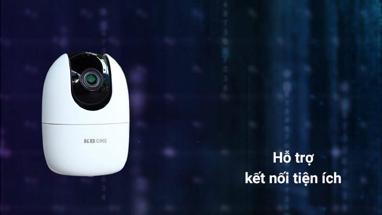 Thiết bị quan sát/ Camera KBvision KN-H21PPV   Hỗ trợ kết nối tiện ích