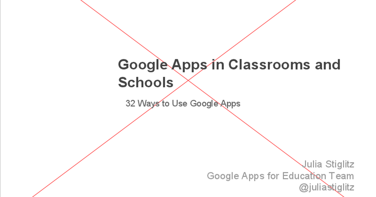 32 Ways to Use Google Apps in the Classroom Google Slides – Classroom Agenda Template