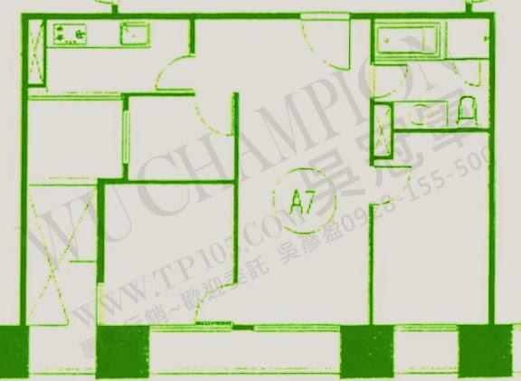 華固新綠洲A7格局分析