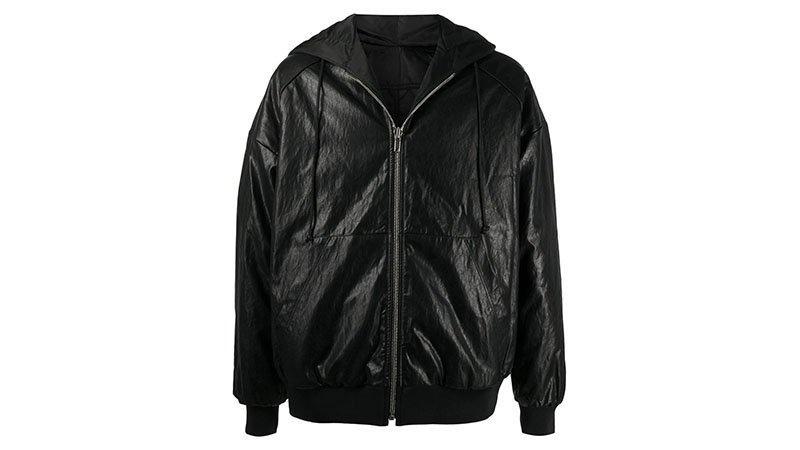 Juun.j Crinkled Hooded Jacket