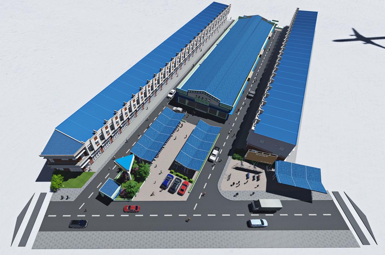 Hoàng Khôi Group với dự án Chợ Vĩnh Tân Tân Uyên