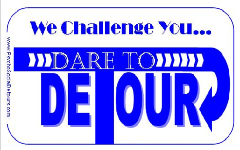 We Challenge You. Dare to Detour.