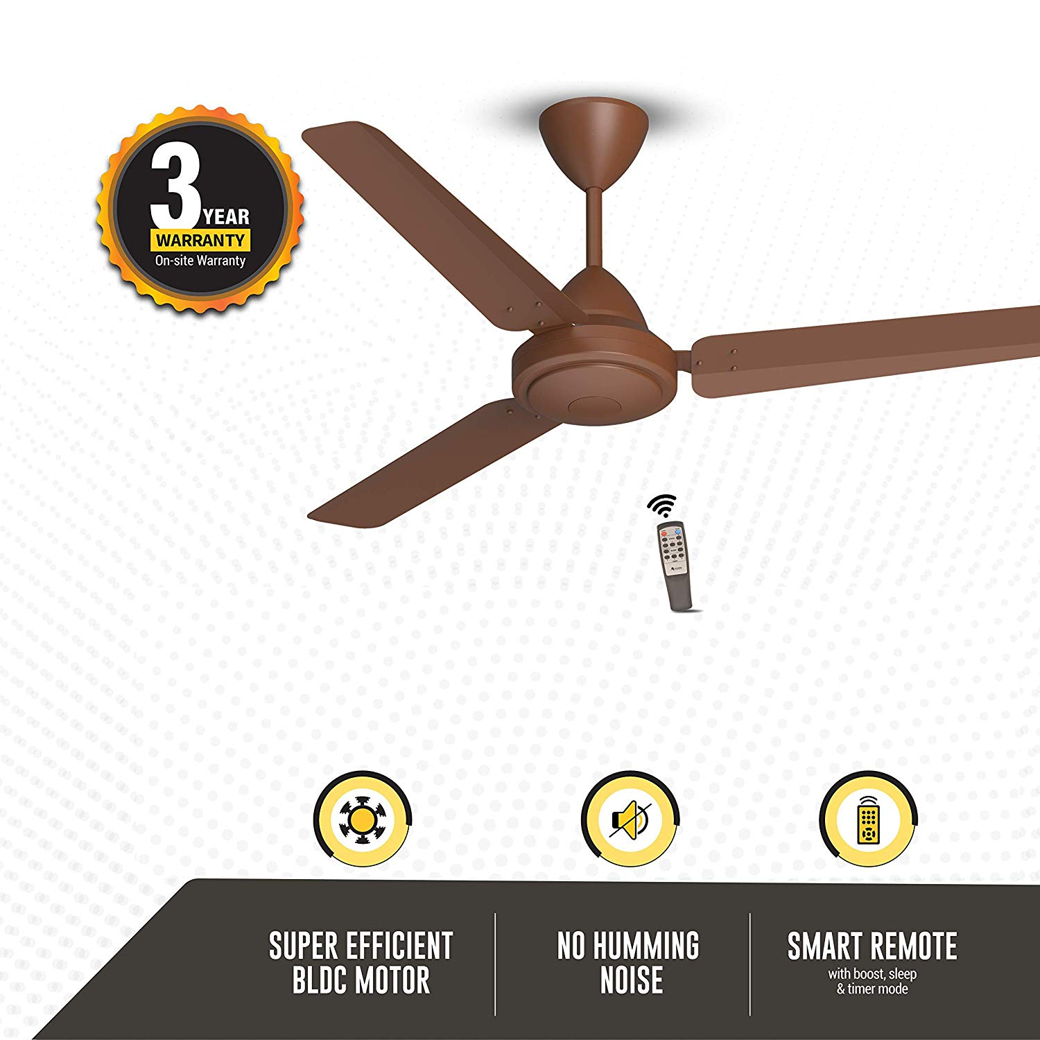 Gorilla Energy Saving 5 Star Rated 1200 mm Ceiling Fans