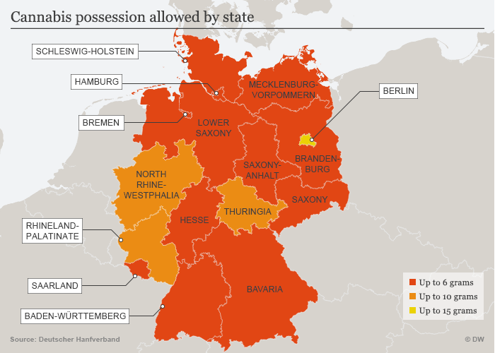 cannabis possession Germany