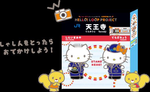 Hello Kitty, 日本, JR, Kitty列車