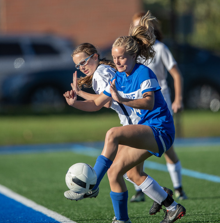 2018,Darien Athletic Foundation, DAF, DHS Darien High, Girls Soccer, JV, New Canaan