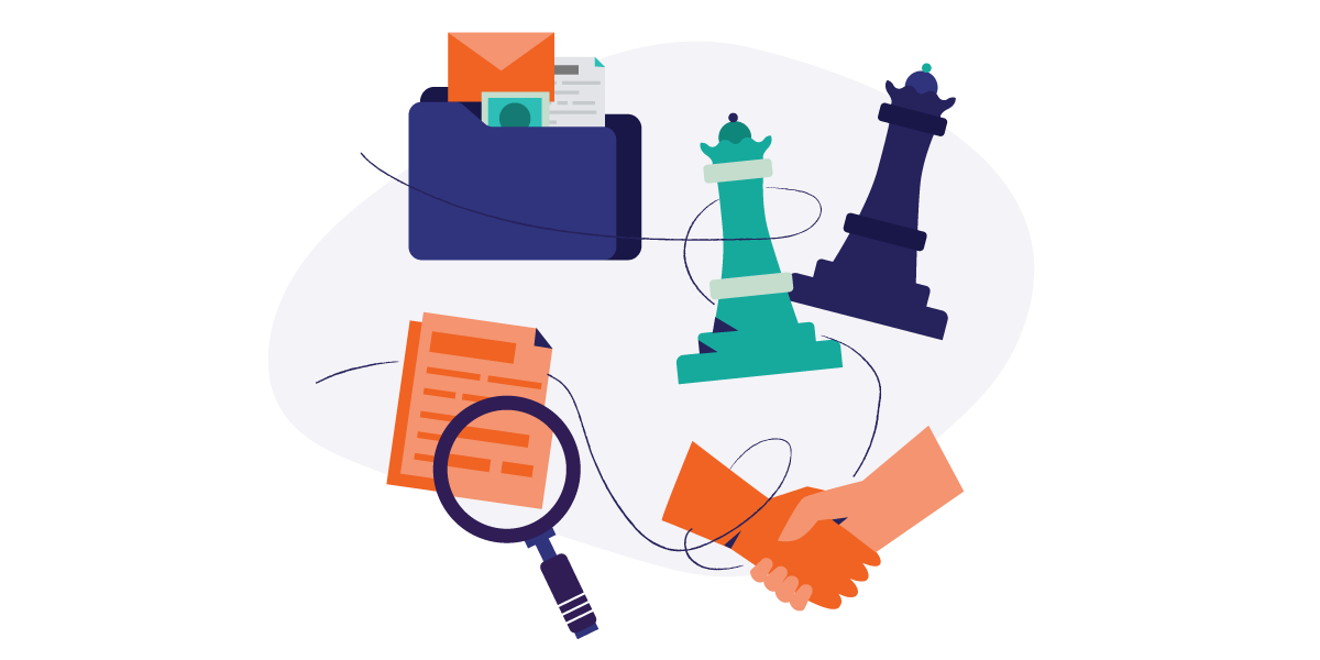 Chess pieces and tools to organize your project management.
