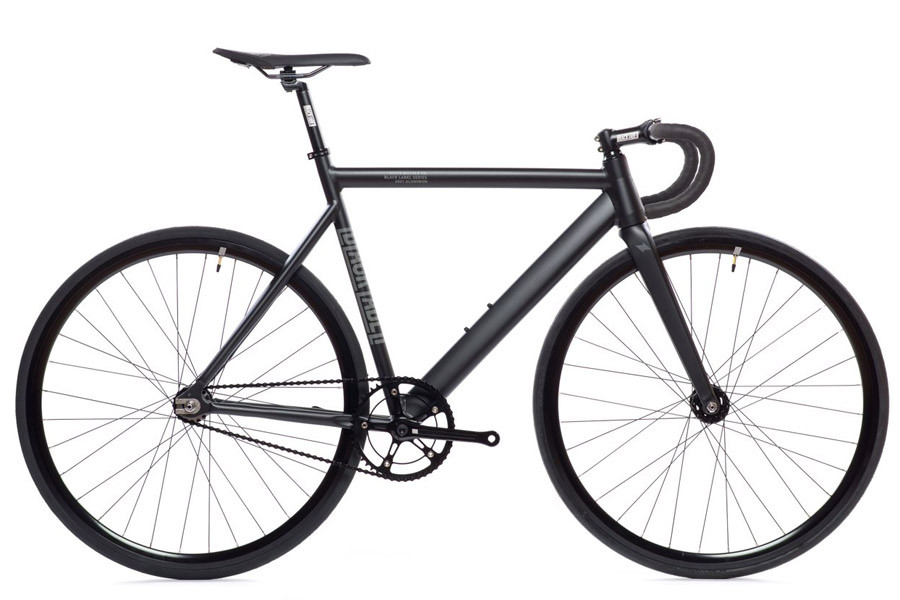 State Bicycle Co. 6061 Fixie-Bike in anthrazit
