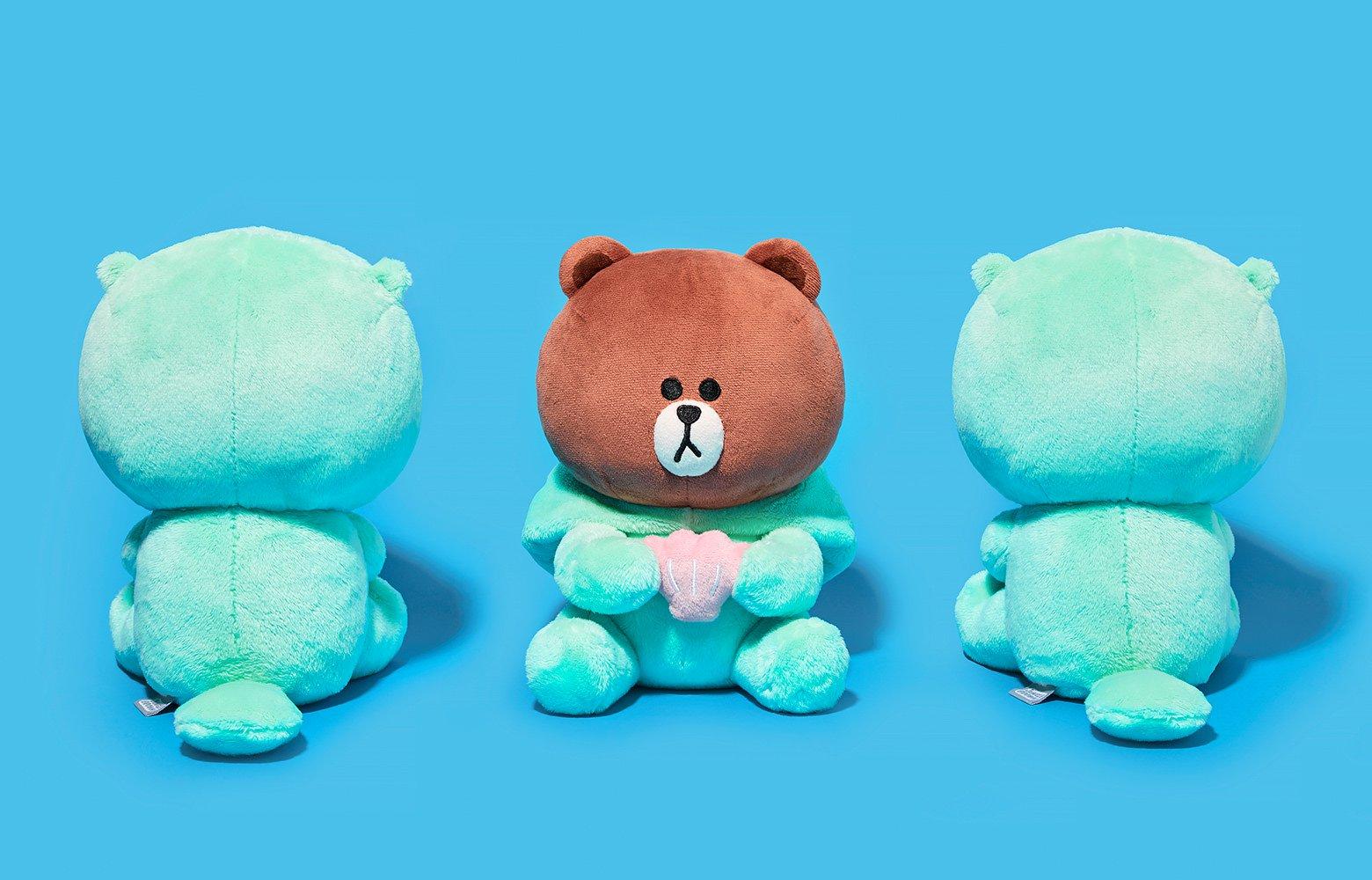 韓國, line, 熊大, 莎莉, 森林動物