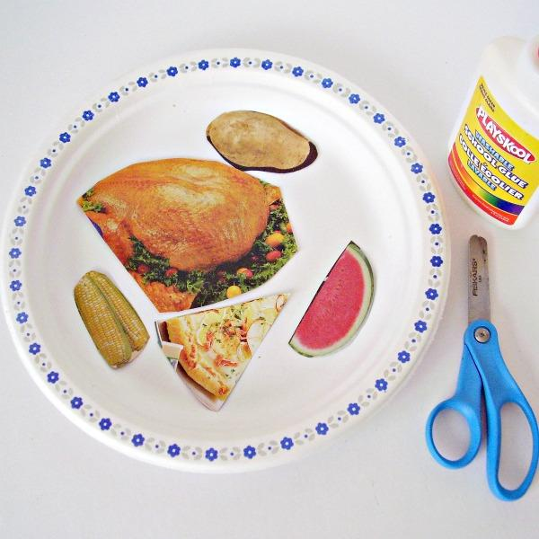 Thanksgiving Craft for Kids Using a Paper Plate » Preschool Toolkit