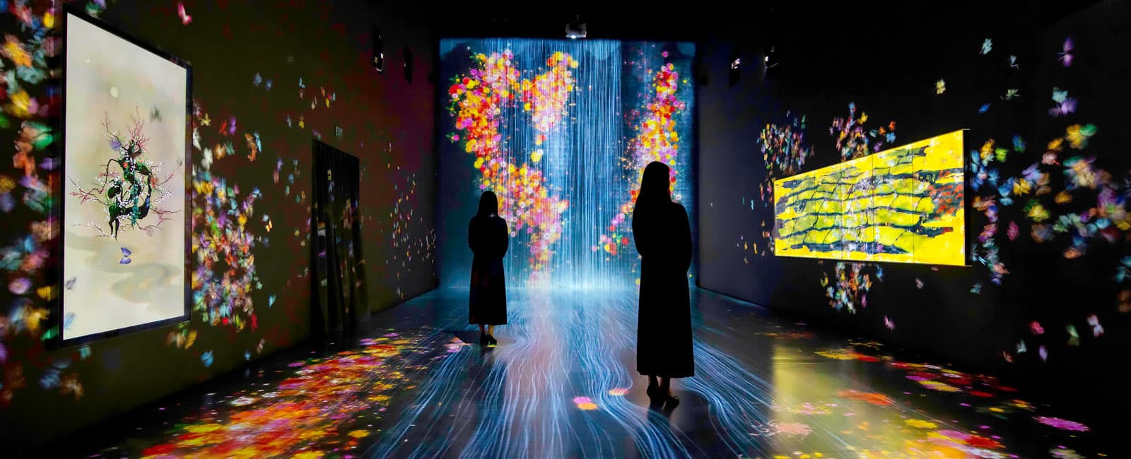 A colorful and exciting exhibition at the ArtScience Museum in Singapore