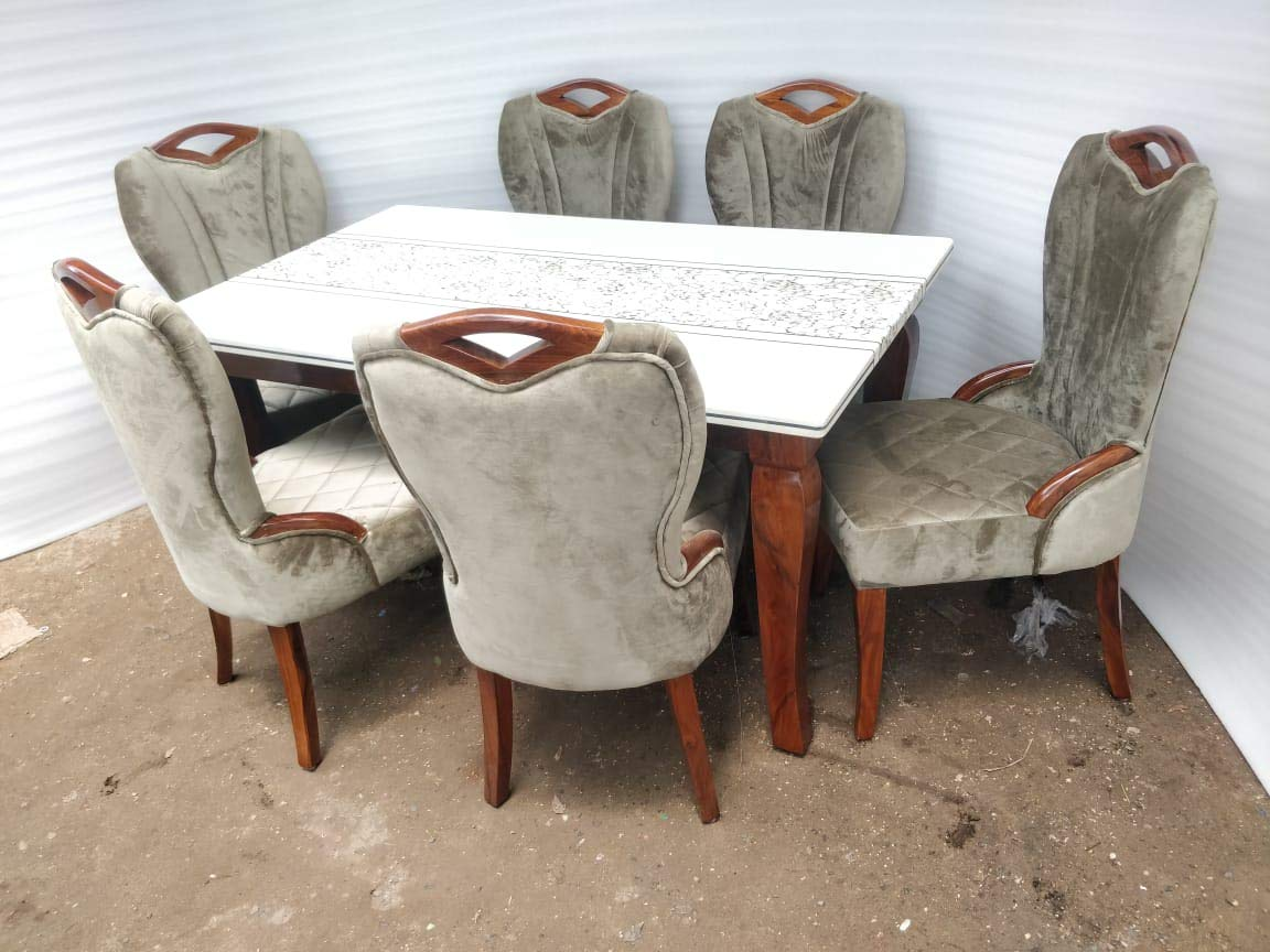 MW SIX Seater SHEESHAM Made Dining Table Set