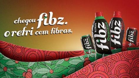 Brasil Kirin lança 'Fibz', o primeiro refrigerante com fibras do ...