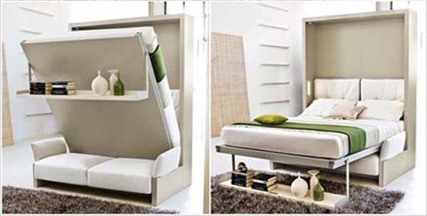 Thay đổi phòng khách thành không gian phòng ngủ