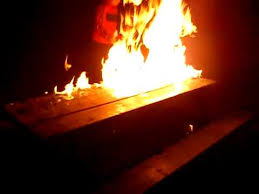 Image result for bench on fire