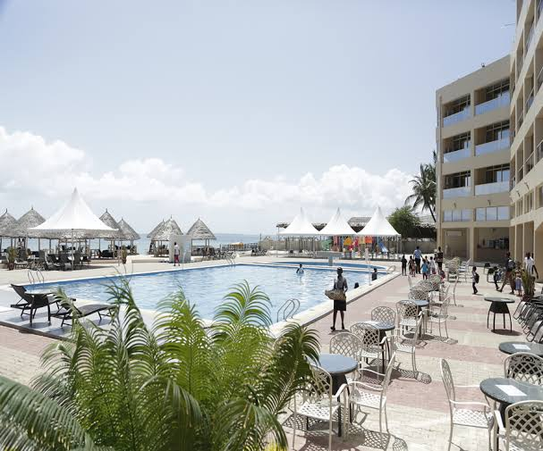 image result for land mark beach Lagos