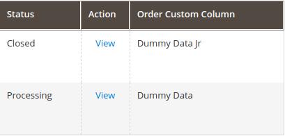 Add custom columns