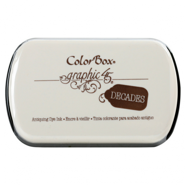 Clearsnap Decades Dye Pad Dark Cashmere