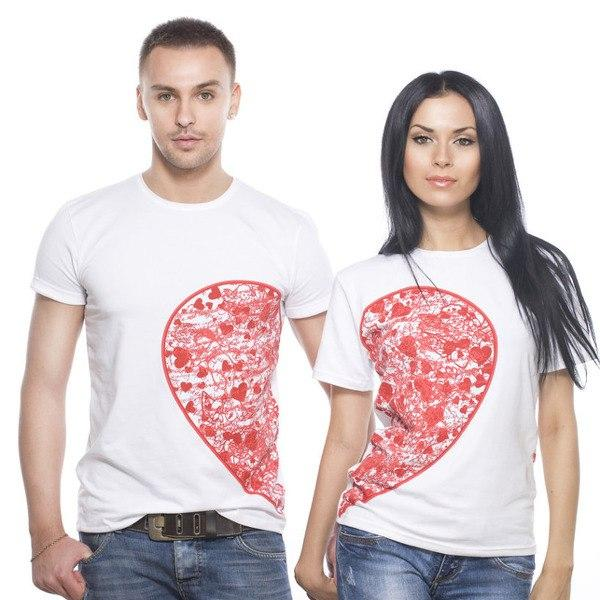 футболки на 14 февраля фото