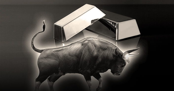 Silver price according to bulls